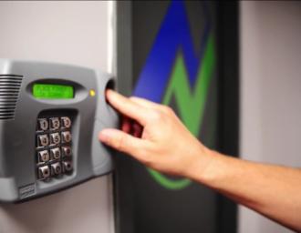 Data_Center_Biometric_Key_Lock